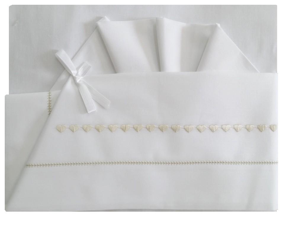 Set lenzuola culla / carrozza